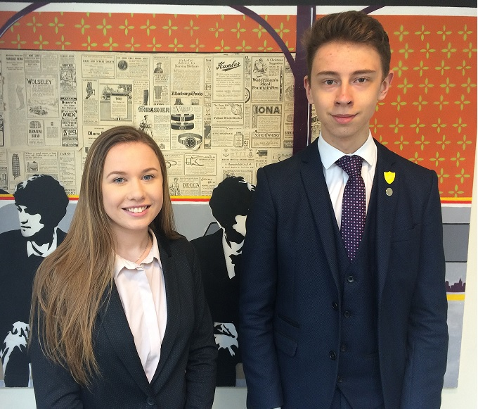 LSS Head Girl and Head Boy 2019 - 2020